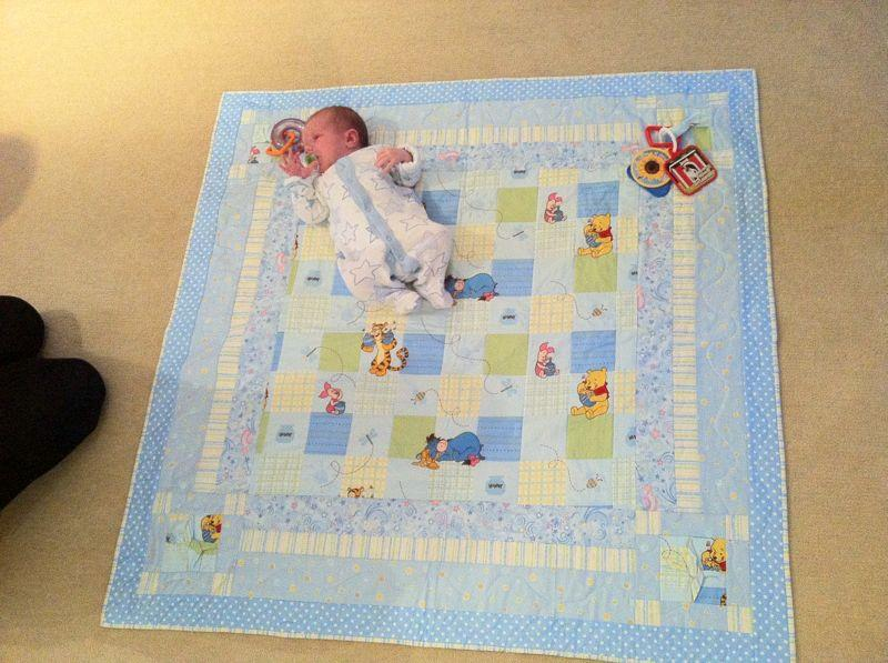 Hand made quilting bespoke high quality hand made for Floor quilt for babies