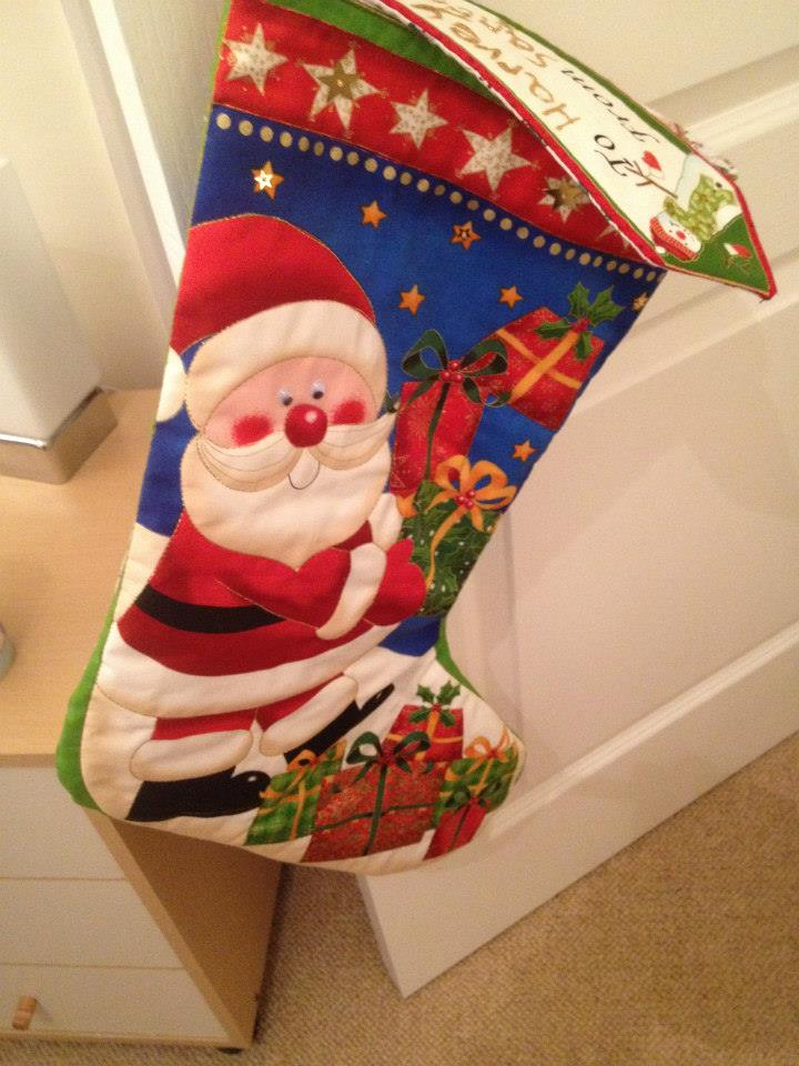 Christmas Quilted Stocking