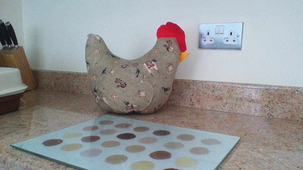 Chicken Kitchen Tidy